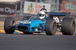 Timothy Osborne - 1968 Crossle 15F in Group 7 - F1, F5000, Formula Atlantic & FIA Gp 6&7 at the 2017 CSRG Charity Challenge run at Sonoma Raceway