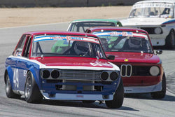 Steve Link - 1968 Datsun Trans Am 510 in 1966-1972 Trans-Am 2.5-Litre/Group E at the 2017 SCRAMP Spring Classic run at Mazda Raceway Laguna Seca