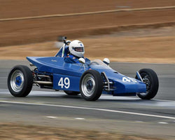 Scott Miller with 1972 Excalibur FV in  Group 5 at the 2015 Season Finale at Thunderhill Raceway