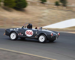Peter Inshaw with 1963 Alfa Romeo Guilia Spider 1600 in Group 9 - 1962-1967 Production and GT Cars under 2000cc at the 2015 Sonoma Historic Motorsports Festival at Sonoma Raceway