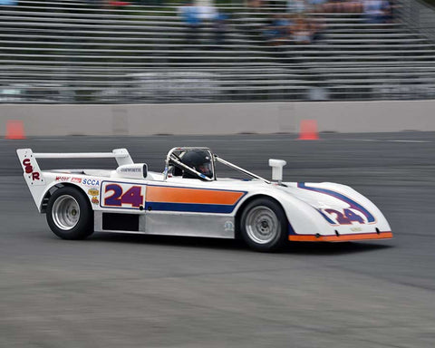 Mark Viskov with 1978 Lola T497 in Group 4 - Limited-Production Sports Racing Cars Prior to 1960 at the 2015 Portland Vintage Racing Festival at Portland International Raceway