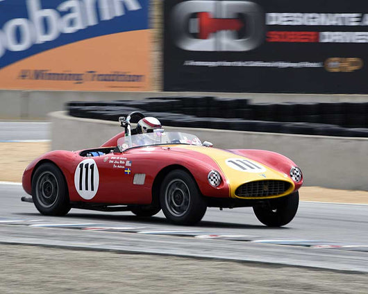 David Loop with 1959 Byers Volvo Sports Racer in Group 1 at the 2015 HMSA LSR Invitational II at Mazda Raceway Laguna Seca