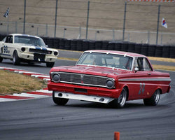 Randy Dunphy with 1965 Ford Falcon in Group 5 - WSC and World Manufactuer's Championship 1960-1972 at the 2015 Portland Vintage Racing Festival at Portland International Raceway
