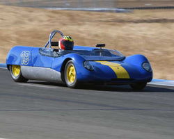Michael Callaham with 1964 Lotus 23B in  Group 4 at the 2015 Season Finale at Thunderhill Raceway