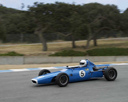 Jim Catchot driving his 1968 Chevron B10 in Group 2 at the 2015 HMSA LSR Inventional I at Mazda Raceway Laguna Seca