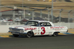 Mark Eddy - 1963 Chevrolet Impala in 1963-72 Grand National Stock Cars - Group 5 at the 2017 SVRA Sonoma Historic Motorsports Festivalrun at Sonoma Raceway