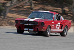 Lindsay Ross - 1966 Shelby GT350 in Group 4B - 1963-1966 GT Cars over 2500cc at the 2017 Rolex Monterey Motorsport Reunion run at Mazda Raceway Laguna Seca