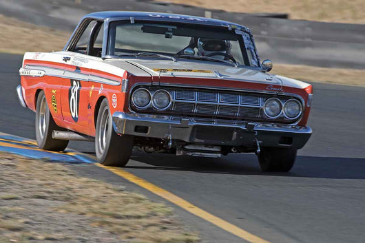 Greg Umphenour - 1964 Mercury FIA Comet in Group 3 -  at the 2016 Charity Challenge - Sonoma Raceway