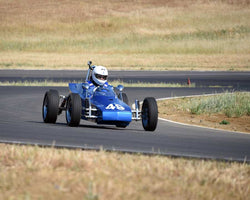 Scott Miller driving his 1972 Excalibur FV in Group 4 at the 2015 CSRG Thunderhill Rolling Thunder at Thunderhill Raceway