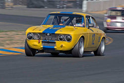 Don Forrester - 1969 Alfa Romeo GTV in Group 2 - Small Displacement Production Sports Cars through 1967 at the 2017 CSRG Charity Challenge run at Sonoma Raceway