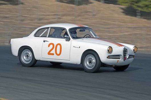 George Jewett - 1957 Alfa Romeo Sprint Veloce in Group 1 -  at the 2016 Charity Challenge - Sonoma Raceway