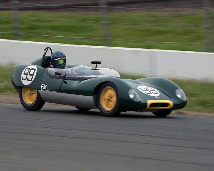 Thor Johnson with 1959 Lotus 17 in Group 9 - at the 2016 CSRG David Love Memorial - Sears Point Raceway