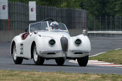 James Alder with 1952 Jaguar XK120 in Group 4 -  at the 2016 Portland Vintage Racing Festival - Portland International Raceway