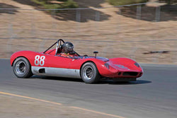 Tom Claridge - 1965 Crossle C9S-27 in Group 4&5 - Small Displacement Sports Racing Cars through 1967 & Formula Junior & Formula Vee open wheel cars at the 2017 CSRG Charity Challenge run at Sonoma Raceway
