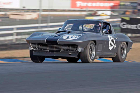 Jim Gallauger - 1967 Chevrolet Corvette in Group 3 - Large Displacement Production Sports Cars through 1967 at the 2017 CSRG Charity Challenge run at Sonoma Raceway