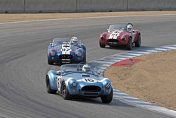Park Family Cobras in Group 6B  at the 2016 Rolex Monterey Motorsport Reunion - Mazda Raceway Laguna Seca