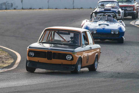 Marc Hugo - 1969 BMW 2002 in Group 3 - Large Displacement Production Sports Cars through 1967 at the 2017 CSRG Charity Challenge run at Sonoma Raceway