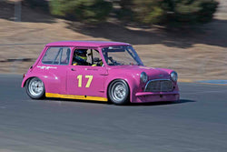 Endaf Owens - 1965 Mini Cooper S in Group 9 - Can-Am Mini Challenge at the 2017 CSRG Charity Challenge run at Sonoma Raceway