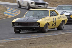 Chad Raynal - 1969 Chevrolet Camaro Z28 in 1966-72 Historic Trans Am Cars - Group 10 at the 2017 SVRA Sonoma Historic Motorsports Festivalrun at Sonoma Raceway