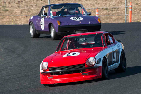 Jim Froula - 1970 Datsun 240Z in Group 8 - Trans-AM, SCCA Sedan &NIMSA GTU/GTO at the 2017 CSRG Charity Challenge run at Sonoma Raceway