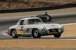 Alex Curtis - 1955 Mercedes-Benz 300SL Gullwing in Group 5A - 1947-1955 Sports Racing and GT Cars at the 2017 Rolex Monterey Motorsport Reunion run at Mazda Raceway Laguna Seca