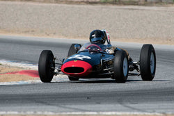 Edward Nigro with 1961 Lotus 20 in Group 3 -  at the 2016 HMSA LSR II - Mazda Raceway Laguna Seca