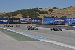 1967-1972 Formula B in Group A at the 2017 SCRAMP Spring Classic run at Mazda Raceway Laguna Seca