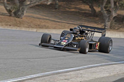 Gregory Thornton - 1976 Lotus 77 in Group 7B  at the 2016 Rolex Monterey Motorsport Reunion - Mazda Raceway Laguna Seca
