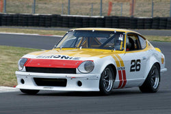 Ken Garchow with 1971 Datsun 240Z in Group 8 -  at the 2016 Portland Vintage Racing Festival - Portland International Raceway