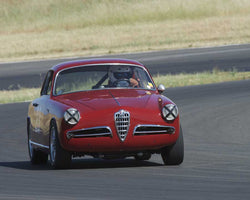 Glenn Oliveria driving his 1955 Alfa Romeo Giulietta at the 2015 CSRG Thunderhill Rolling Thunder at Thunderhill Raceway