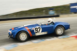 Steve Park - 1962 Shelby 289 Cobra in Group 7 at the 2017 HMSA Spring Club Event - Mazda Raceway Laguna Seca
