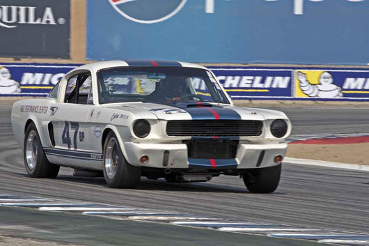 Kevin Sittner - 1966 Shelby GT350 in Group 6B  at the 2016 Rolex Monterey Motorsport Reunion - Mazda Raceway Laguna Seca