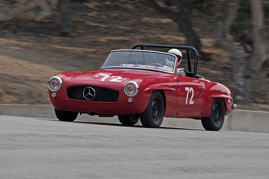 Jeff Marx - 1955 Mercedes-Benz 190SL in Group 1B  at the 2016 Rolex Monterey Motorsport Reunion - Mazda Raceway Laguna Seca