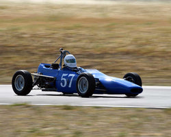 Kurt Joerger driving his 1971 Cadwell D9B in Group 6/7 at the 2015 CSRG Thunderhill Rolling Thunder at Thunderhill Raceway