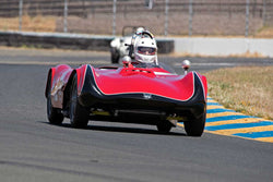 Paul Perry with 1960 Phoenix SAAB H Modified in Group 2  at the 2016 SVRA Sonoma Historics - Sears Point Raceway