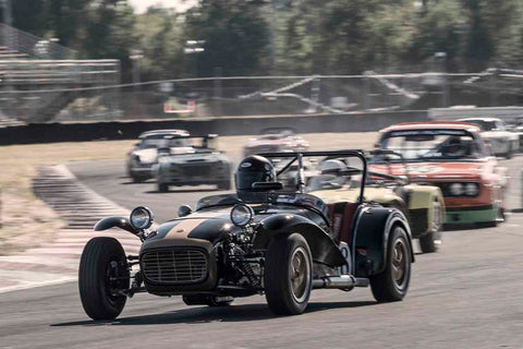 Paul Quackenbush - 1963 Lotus S7 in Group 8 at the 2017 SVRA Portland Vintage Racing Festival run at Portland International Raceway
