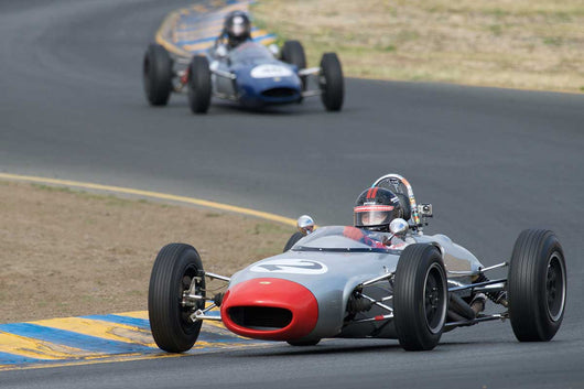 Art Hebert - 1963 Lola Mk.5A in Group 5 -  at the 2016 Charity Challenge - Sonoma Raceway