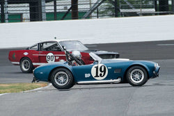 Phil Mulacek - 1966 AC Cobra - Group 6 at the 2017 Brickyard Vintage Racing Invitationalrun at Indianapolis Motor Speedway