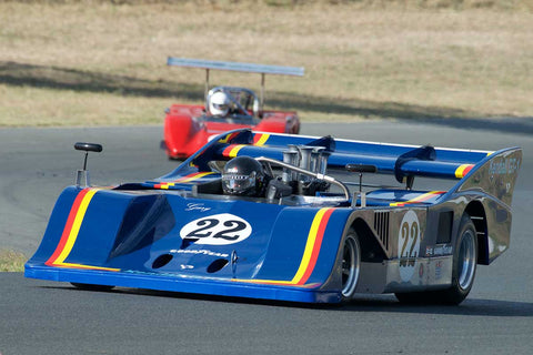 Scott Drnek with 1974 Sting CanwithAm in Group 11 at the 2016 SVRA Sonoma Historics - Sears Point Raceway