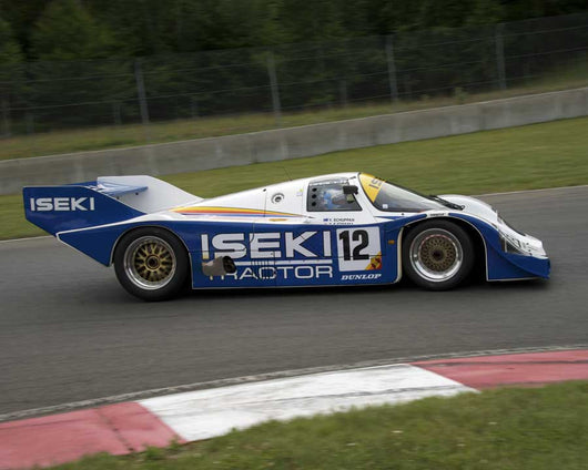Russ Kempnich with 1984 Porsche 956C in Group 5 at the 2015 Sommet des LÌÄå_ÌÄåÌÄå_ÌÄå__gendes at Mt Tremblant