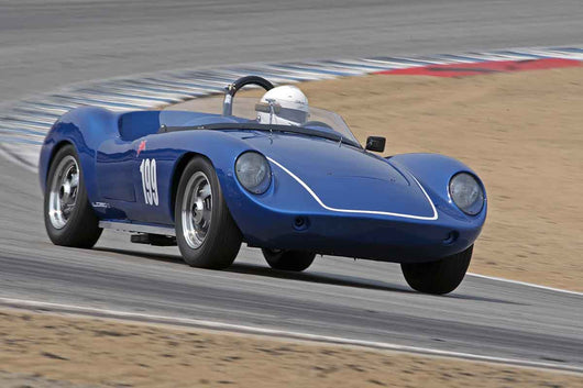 Dennis Kazmerowski - 1960 Devin D in Group 1B  at the 2016 Rolex Monterey Motorsport Reunion - Mazda Raceway Laguna Seca