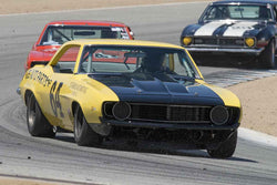 Chad Raynal - 1969 Chevrolet Camaro Z28 in Group C/1966-1972 Trans-Am at the 2017 SCRAMP Spring Classic run at Mazda Raceway Laguna Seca