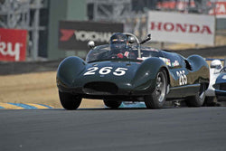 Sandra McNeil - 1958 Cooper Monaco T49 in 1947-60 Sports Racing & Production Cars - Group 2 at the 2017 SVRA Sonoma Historic Motorsports Festivalrun at Sonoma Raceway