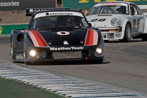Cooper MacNeil - 1980 Porsche 935 in Group 4A - 1973-1981 FIA, IMSA GT,GTX,AAGT Cars at the 2017 Rolex Monterey Motorsport Reunion run at Mazda Raceway Laguna Seca