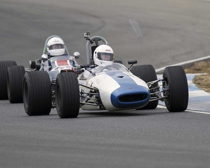 Tom Schnurbusch with 1967 Brabham BTwith21B in  Group 7 at the 2015 Season Finale at Thunderhill Raceway