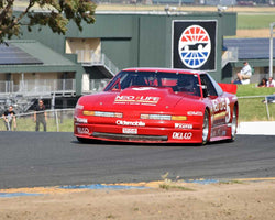 Ike Keeler with 1990 Oldsmobile Cutlass in Group 13 - 1982-1991 Historic IMSA GTO/SCCA Trans-Am at the 2015 Sonoma Historic Motorsports Festival at Sonoma Raceway