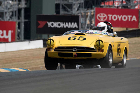 Tom Sakai with 1965 Sunbeam Tiger in Group 6 -  at the 2016 SVRA Sonoma Historics - Sears Point Raceway