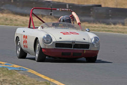 Paul Konkle - 1962 MGB  in 1955-65 Production & GT Cars - Group 3 at the 2017 SVRA Sonoma Historic Motorsports Festivalrun at Sonoma Raceway