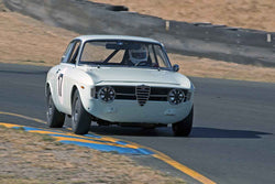 Patrick Hung - 1967 Alfa Romeo GT 1300 Junior in Group 1 -  at the 2016 Charity Challenge - Sonoma Raceway