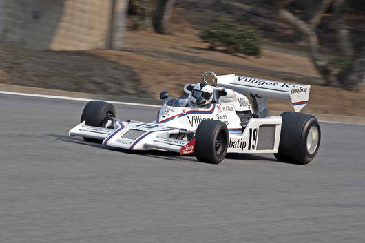 Bob Earl - 1977 Shadow DN8 in Group 7B  at the 2016 Rolex Monterey Motorsport Reunion - Mazda Raceway Laguna Seca